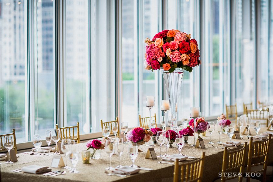 Modern Wing of the Art Institute table decor