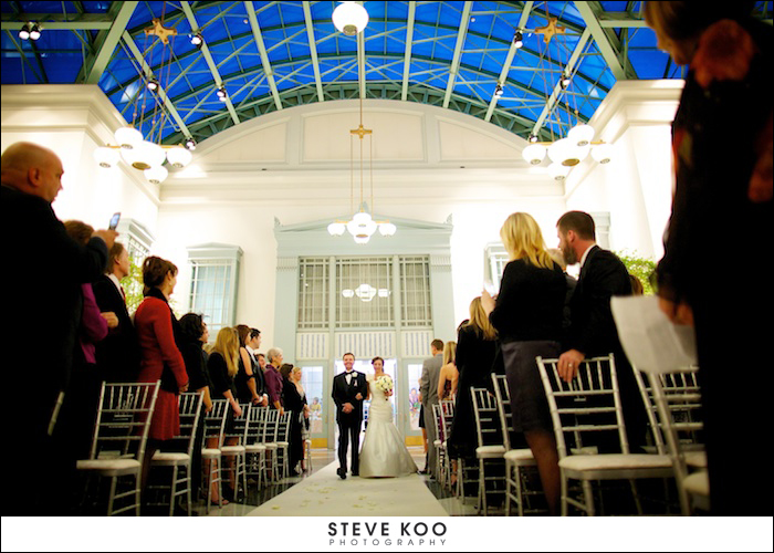 harold washington library wedding