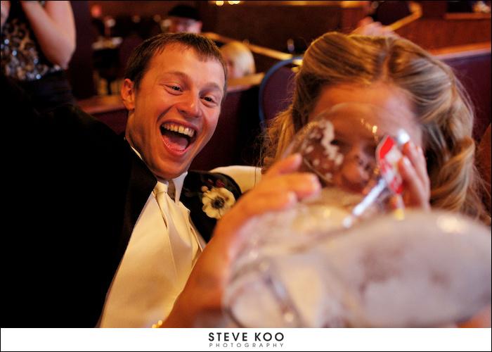 bride-drinking
