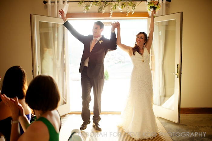 bride groom introductions