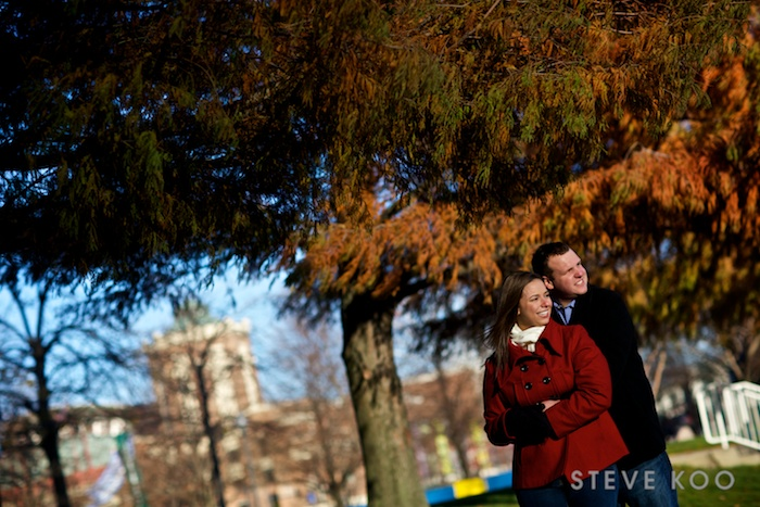 fall-engagement-session-chicago