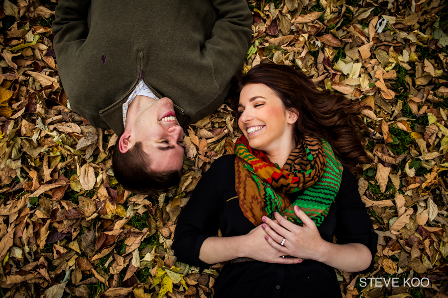 fall-leaves-engagement-session