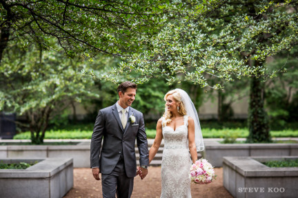 art-institute-garden-wedding-photo
