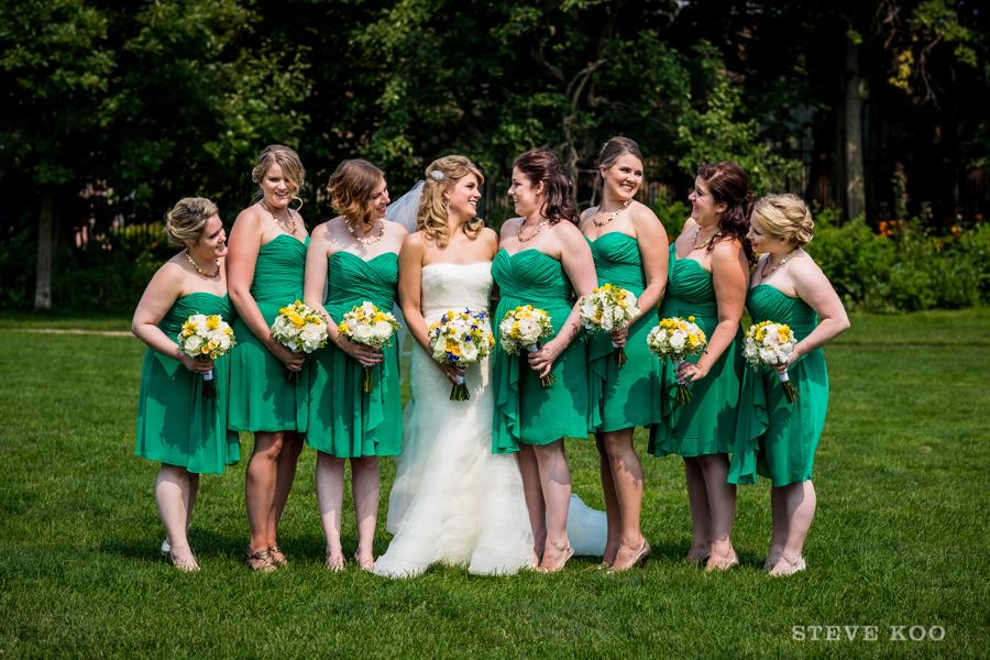green-bridesmaid-dresses