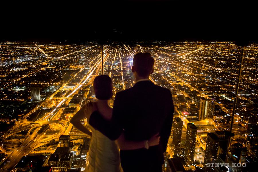 Willis Tower Skydeck Wedding 24