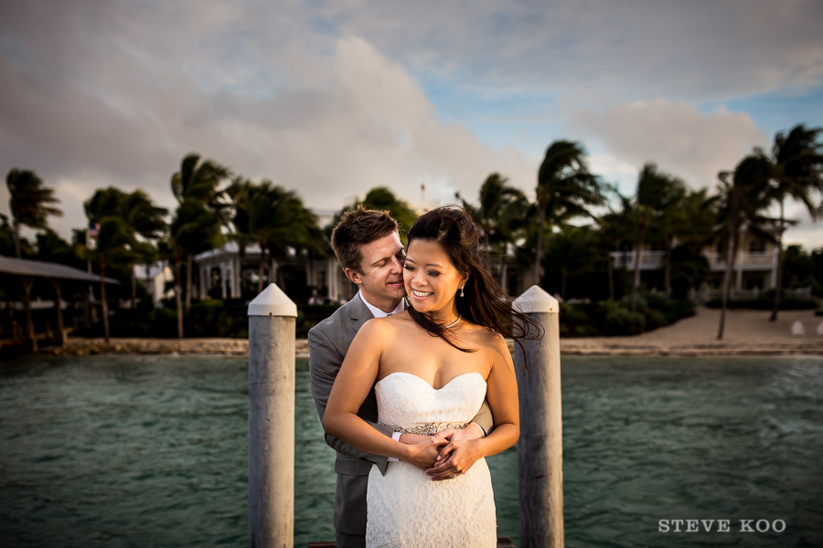 Keywest Sunset Key Cottage Wedding