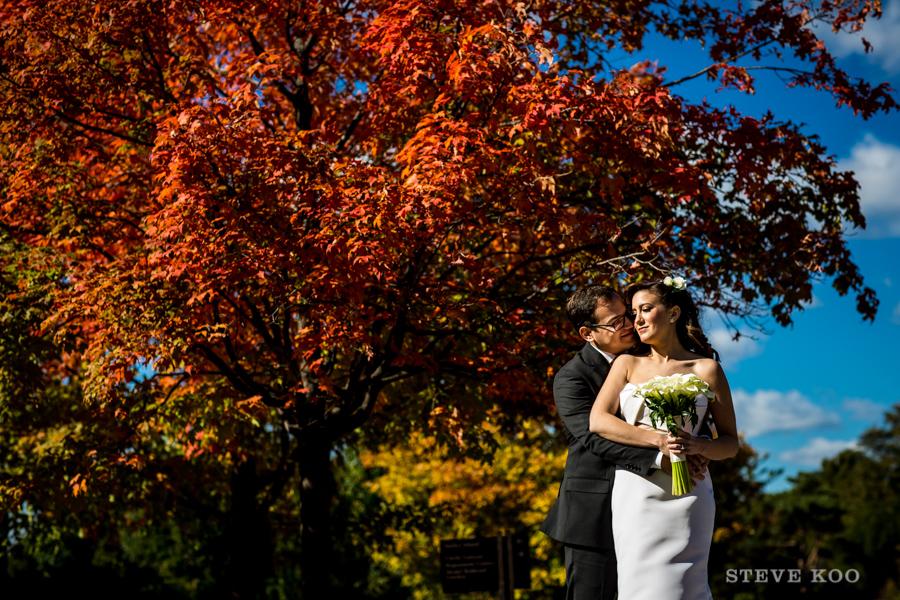 chicago-botanic-garden-wedding-fall