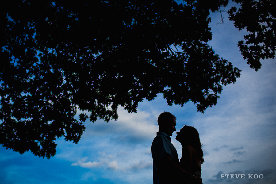 silhouette-engagement-photos